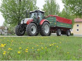 Steyr 4110 Profi CVT