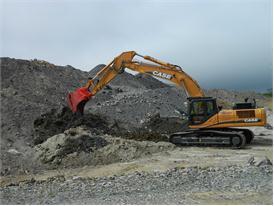 Case CX350C Crawler Excavator