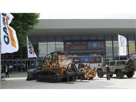 A successful HEMUS 2014 for Case Construction Equipment and Titan Machinery Bulgaria