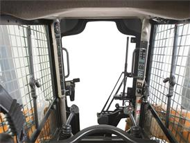 Excellent Visibility from Case Skid Steer Loaders Compact Track Loaders Cabins
