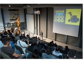 Alain De Nanteuil Presentation of New Case F Series Compact Wheel Loader