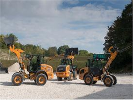 New Case F Series Compact Wheel Loaders