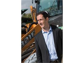 Alain De Nanteuil with the New Case F Series Compact Wheel Loaders