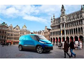 The Iveco Vision van concept from CNH Industrial