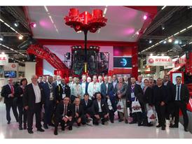 Case IH team together with key customers at SIMA 2015 in Paris