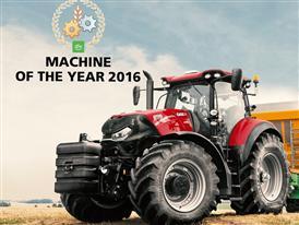 "Brand new Optum CVX awarded ""Machine of the Year 2016"""