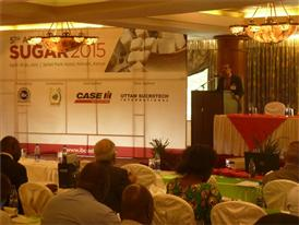Daniel Bordabossana Case IH Marketing Manager Africa & Middle East at the 5th Africa Sugar Outlook Conference in Kenya