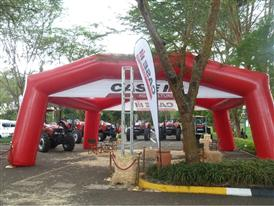 Case IH Machine Display at the 5th Africa Sugar Outlook Conference in Kenya