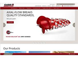 The Case IH redesigned website that offers maximum customer comfort Screenshot - Axial Flow rotor detail