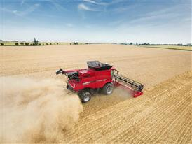 Case IH Axial Flow residue chopping and spreading