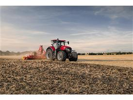 Optum 300 CVX with cultivator