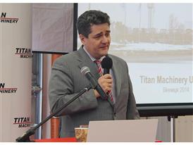 Karl Almhofer, Managing Director of Titan Machinery Europe