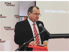 Sergey Garbuz, Managing Director of Titan Machinery in Kiev