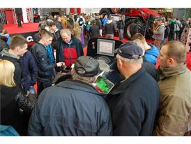 Case IH AFS technology at the Agrotech show
