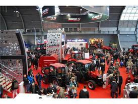 Case IH stand at the Agrotech show
