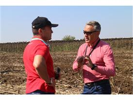 Two journalists on the Case IH Press Trip in the Balkans
