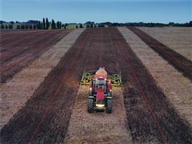 The perfect coverage of a field using AFS technology