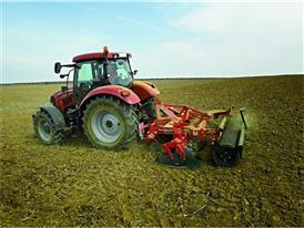 Maxxum CVX undertaking field cultivation activities