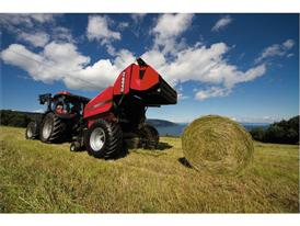 RB Fixed Chamber Round Baler working