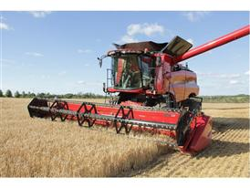Axial Flow working in wheat