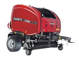 New variable-chamber round balers announced by Case IH