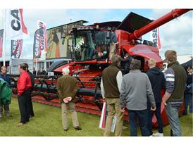 The new Axial Flow combine unveiled at Cereals