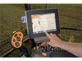 AFS Precision Farming, in-cab monitor on the Axial Flow combines