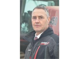 Case IH Product Specialist Paul Freeman