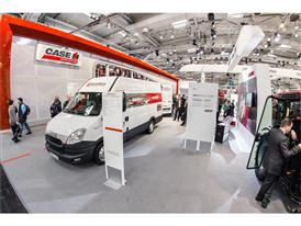 Case IH well equipped service vans to provide an even higher level of support to customers
