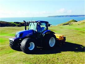 The T6 at Pennard Gold Club in Scotland