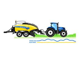 New Holland IntelliFeed™ diagram
