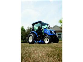 New Holland Boomer™ 54D EasyDrive mowing the lawn