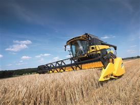 New Holland CR7.90 Combine Harvester in the Field