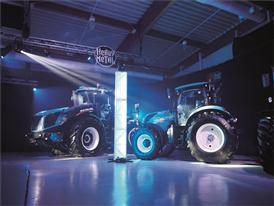 Basildon rocks to heavy metal at New Holland T7 Heavy Duty tractor launch