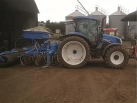 New Holland T6.150 Electro Command™ at the farm just outside Northampton