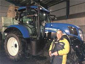 True blue farmer's 225-mile Tractor Aid mission  to flood-stricken Somerset hits the headlines