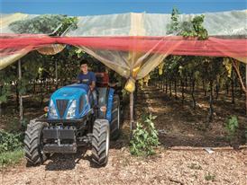 T3.75F Tractor dimensions mean that it can easily work under covered areas