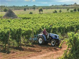 T3.75F Tractor's dimensions mean it can easily pass through narrow orchard and vineyard areas