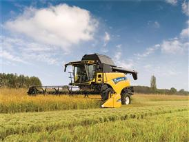 New Holland New CR8.80 Combine Harvester in the Field