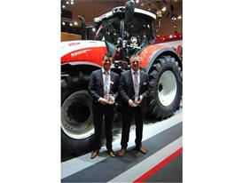 Case IH and STEYR won awards for their stand at Agribex 2015