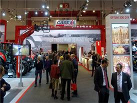 Case IH and STEYR stand at Agribex 2015