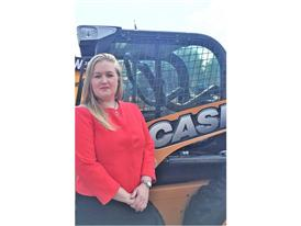 Jane Whittle, new Case Constuction Equipment dealer network manager