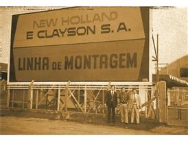 Historical image from the original Curitiba plant in the 1970s