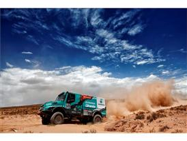 The Iveco Powerstar of Gerard de Rooy Racing through South America at Dakar 2016