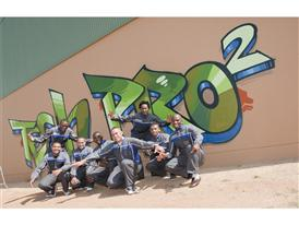 Students from the TechPro2 Program in South Africa