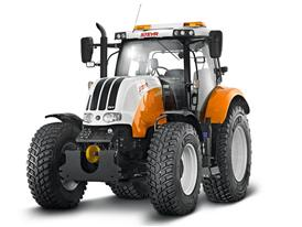 Steyr Tractors up at Kulm: Safety with tradition