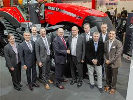 Case IH and Titan Machinery @ Agritechnica 2015