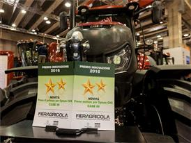 A Foursome of Awards for Case IH at Fieragricola 2016