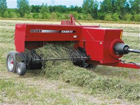 Case IH SB541 Small Square Baler in the Field