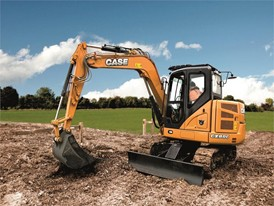 CASE CX80C Midi Excavator